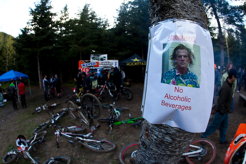 Rules is rules - Port Angeles ProGRT Practice - Mountain Biking Pictures - Vital MTB