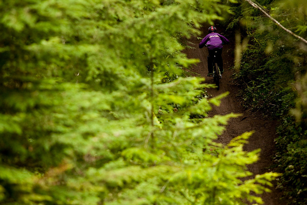 Greenery and scenery - Port Angeles ProGRT Practice - Mountain Biking Pictures - Vital MTB