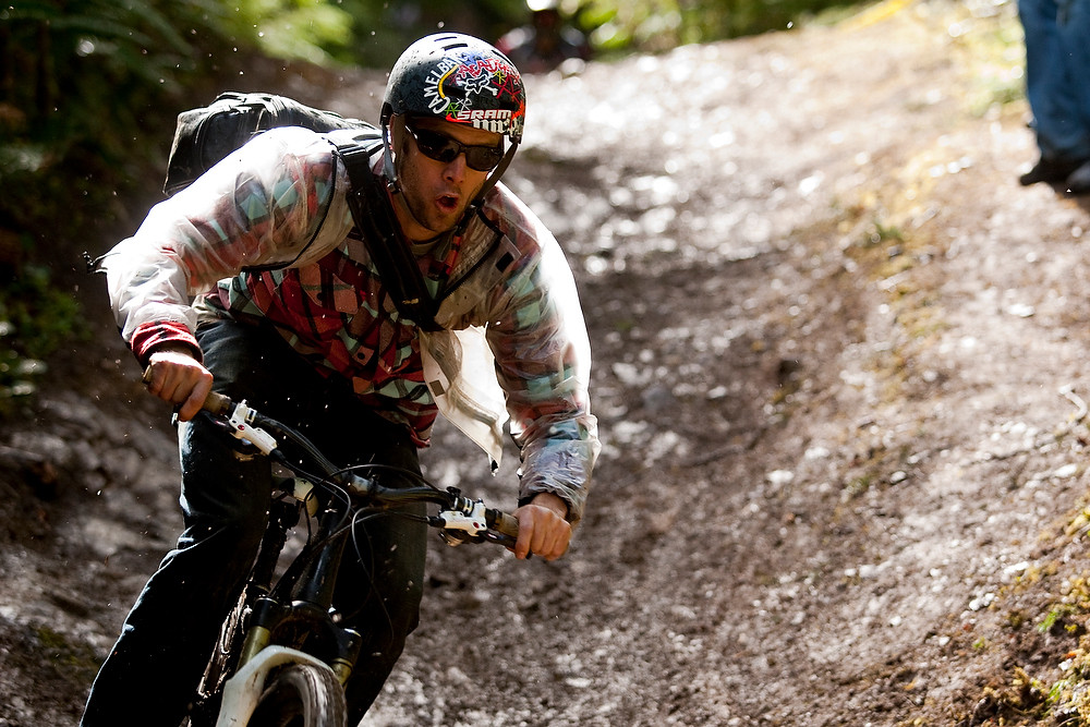 Kirt Voreis - Port Angeles ProGRT Practice - Mountain Biking Pictures - Vital MTB