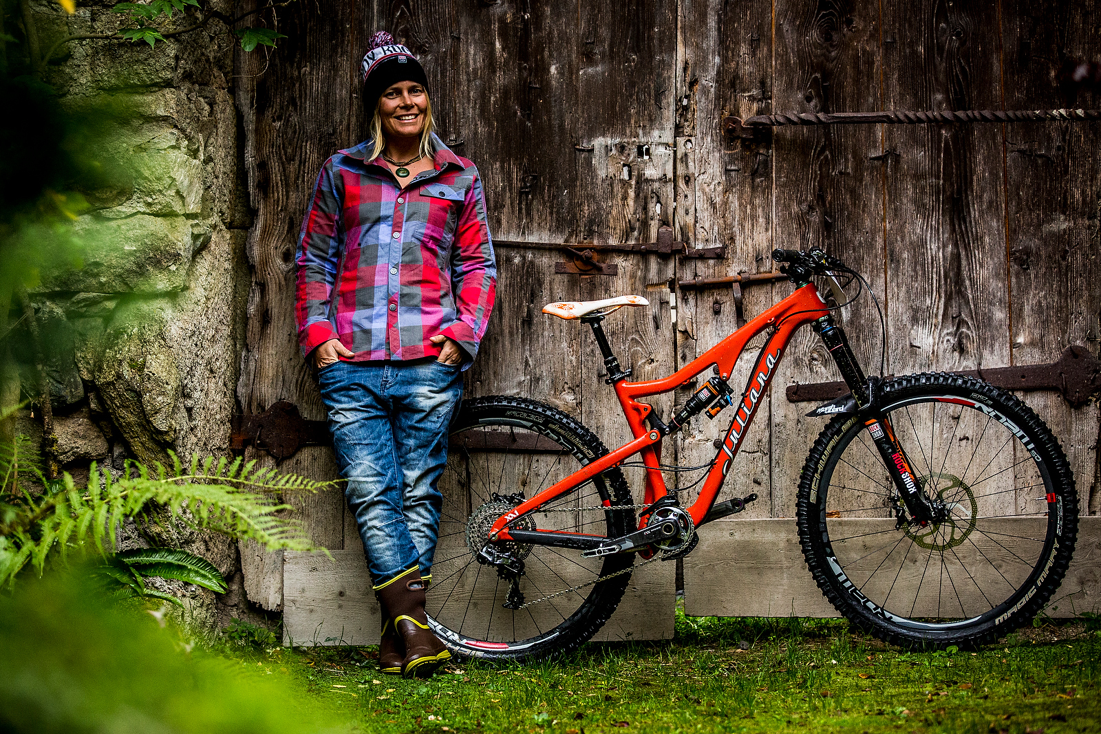 Winning Bike Anka Martin S Custom 150mm Travel Juliana