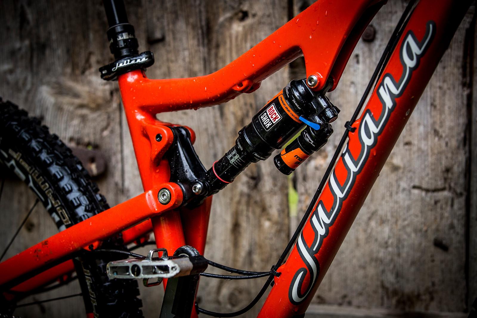 WINNING BIKE: Anka Martin's Custom 150mm-travel Juliana Furtado - WINNING BIKE: Anka Martin's Custom 150mm-travel Juliana Furtado - Mountain Biking Pictures - Vital MTB