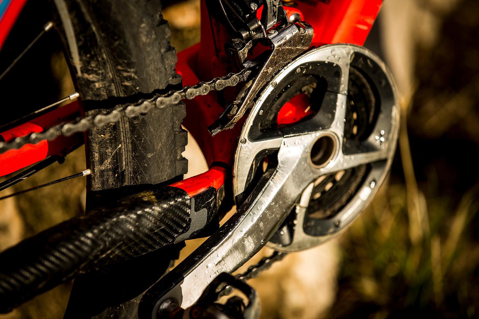 WINNING BIKE: Nico Lau's Cube Stereo 160 Super HPC 27.5 - WINNING BIKE: Nico Lau's Cube Stereo 160 Super HPC 27.5 - Mountain Biking Pictures - Vital MTB
