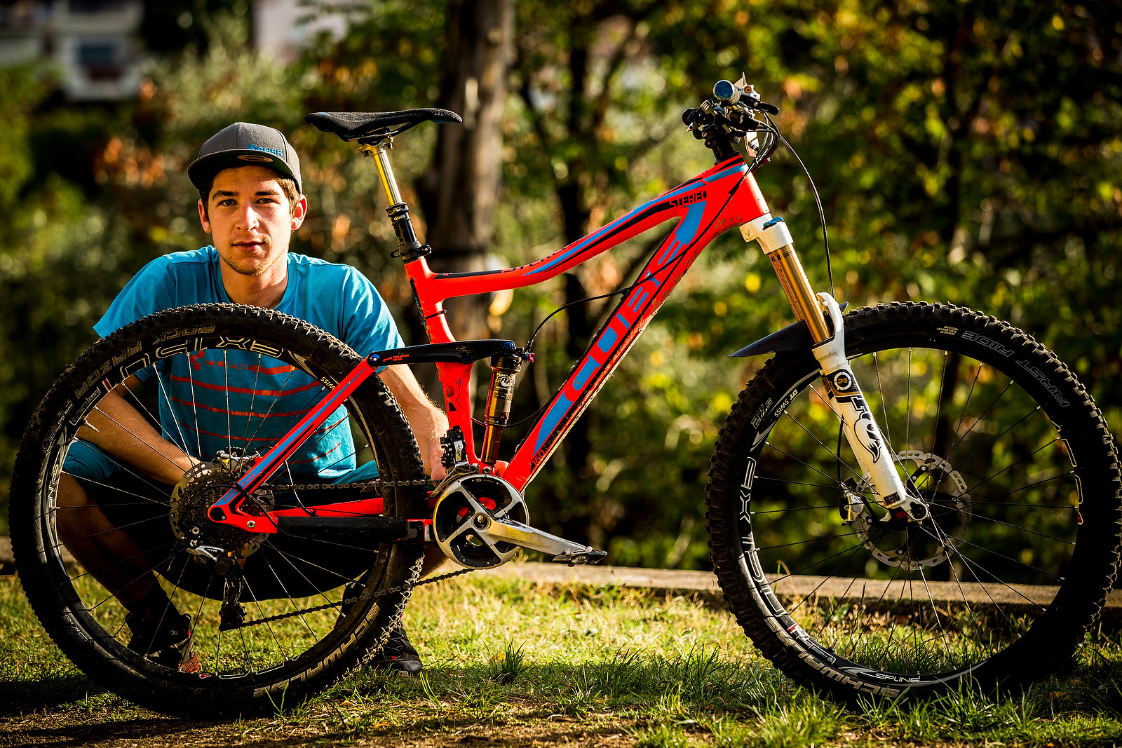 WINNING BIKE: Nico Lau's Cube Stereo 160 Super HPC 27.5 - WINNING BIKE: Nico Lau's Cube Stereo 160 Super HPC 27.5 - Mountain Biking Pictures - Vital MTB