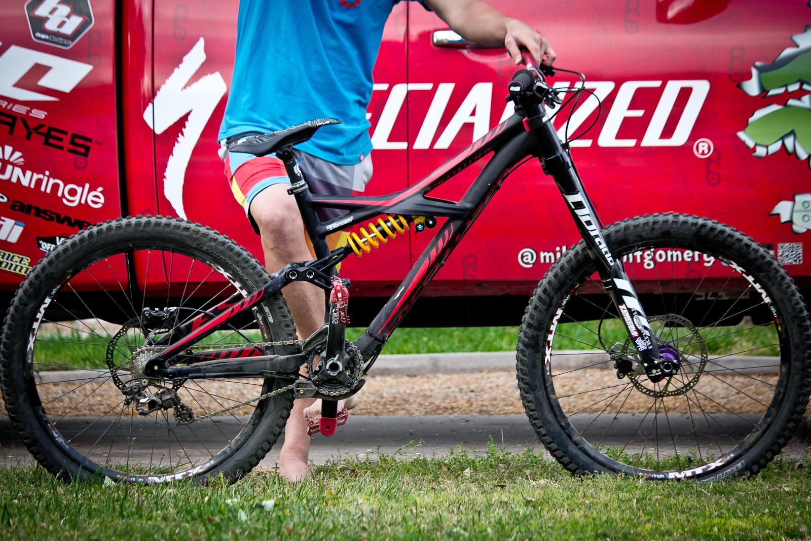 Pro Bike Mike Montgomery S Specialized Enduro Expert Evo