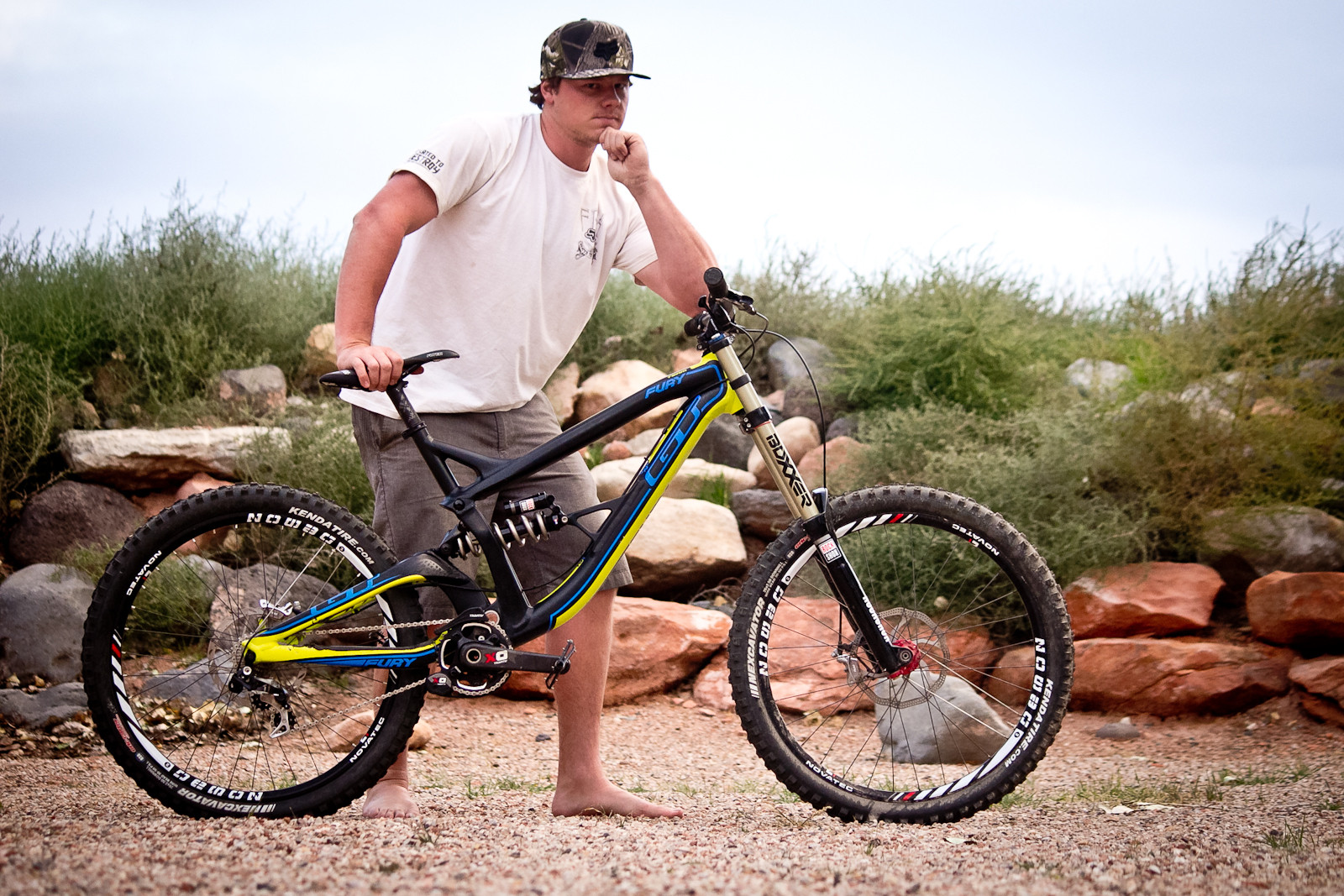 Rampage Pro Bike: Kyle Strait's 2014 GT Fury - Rampage Pro Bike: Kyle Strait's GT Fury - Mountain Biking Pictures - Vital MTB
