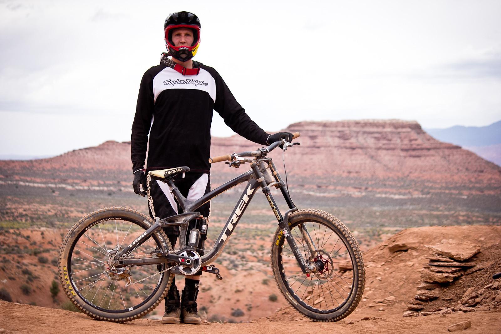 Rampage Pro Bike: Brandon Semenuk's Trek Session Park - Rampage Pro Bike: Brandon Semenuk's Trek Session Park - Mountain Biking Pictures - Vital MTB
