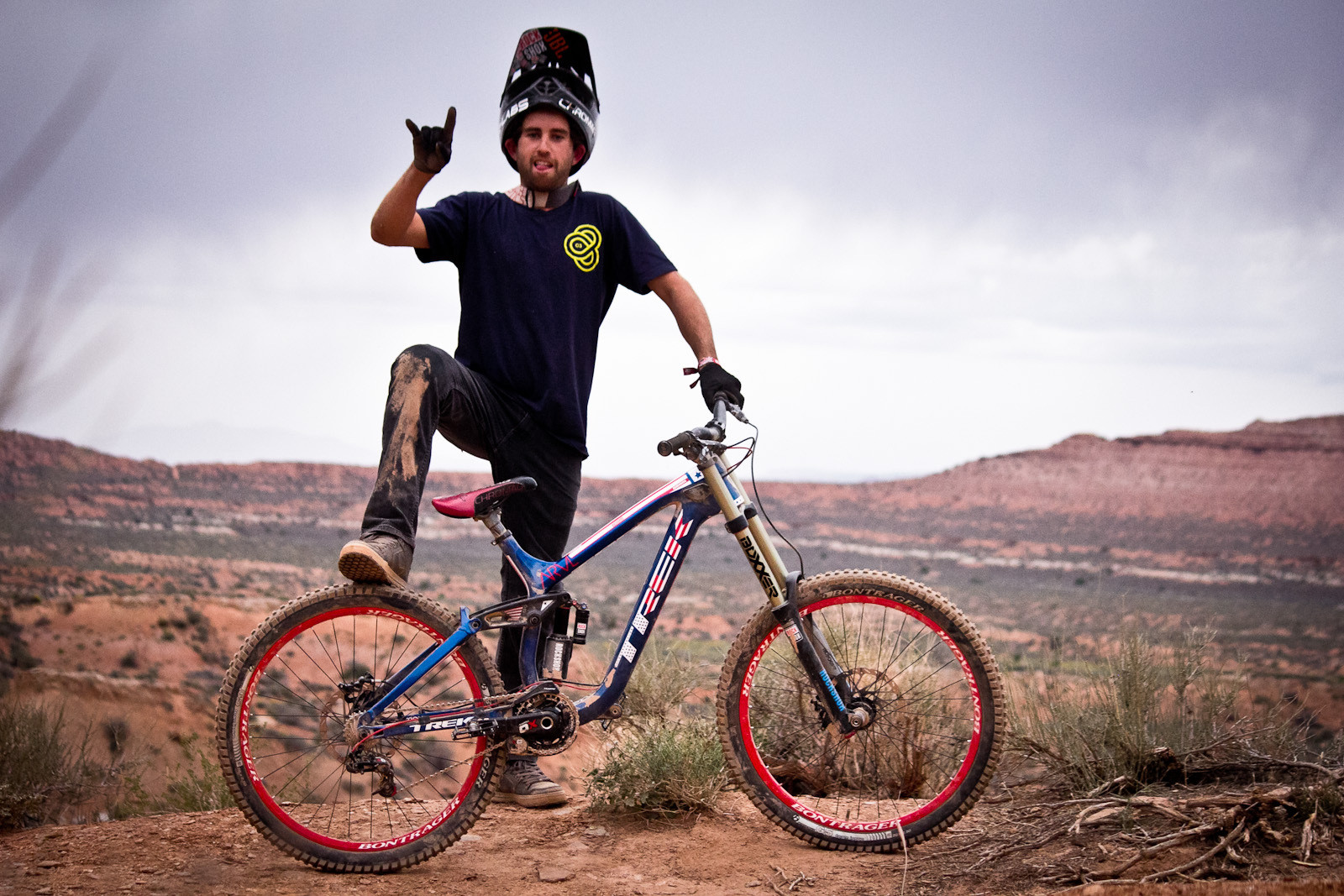 Rampage Pro Bike Ryan Howards Trek Session Park