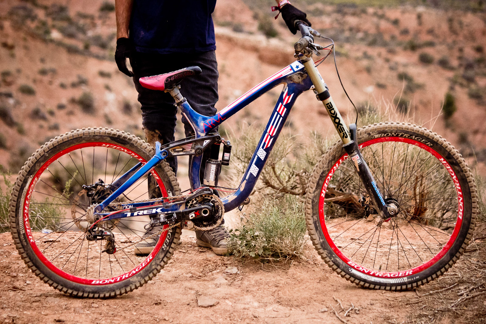 Rampage Pro Bike Ryan Howard S Trek Session Park