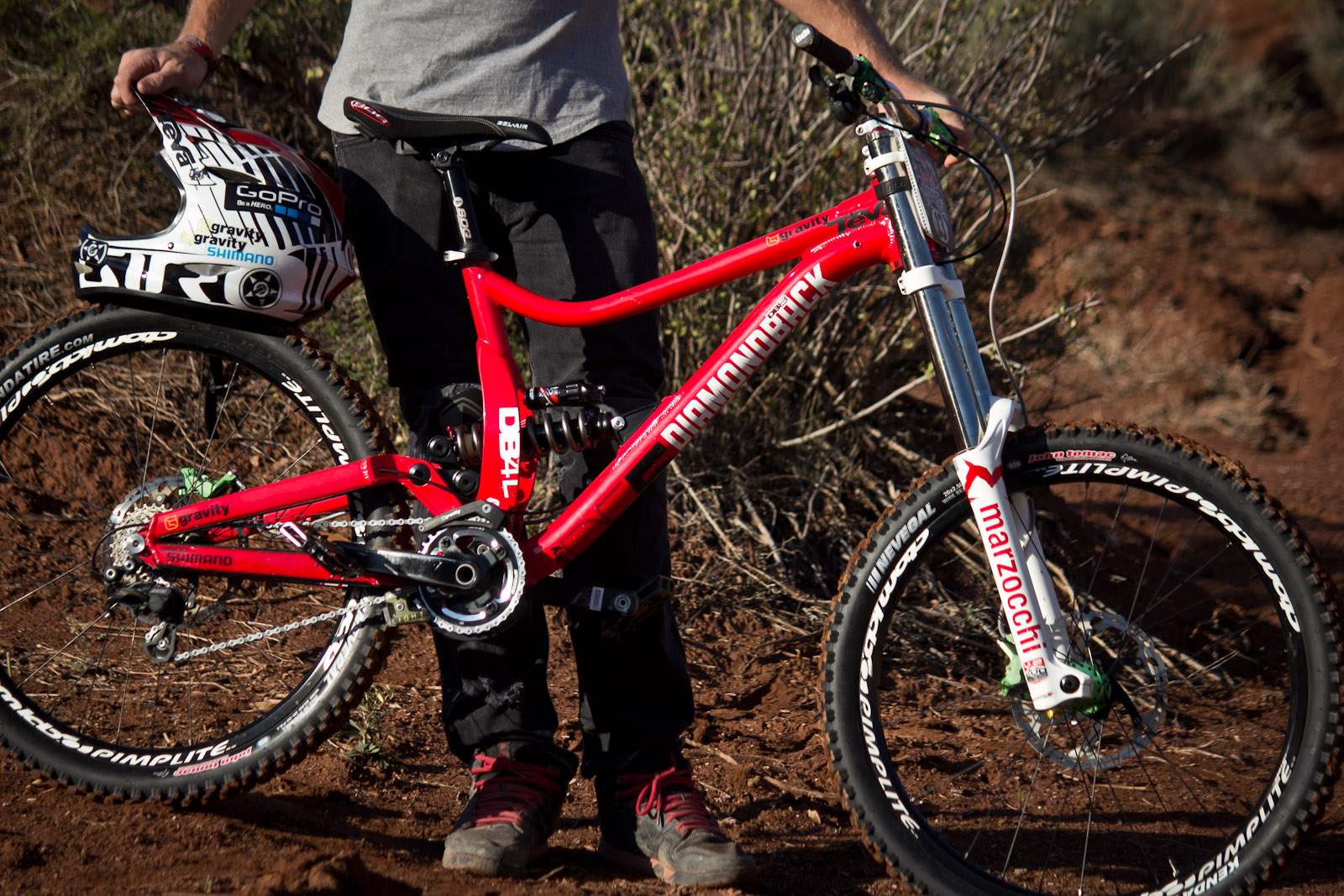 Rampage Pro Bike Kelly Mcgarry S Diamondback Db8