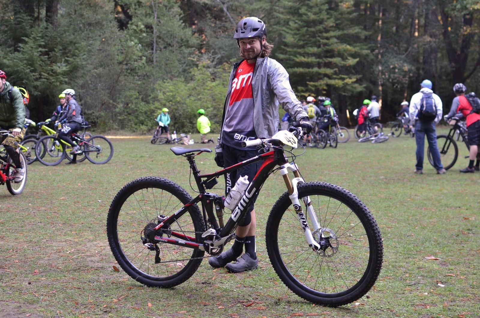 PIT BITS from the Santa Cruz Super Enduro: Aaron Bradford's BMC FourStroke FS01 29er - PIT BITS - 2013 Santa Cruz Super Enduro - Mountain Biking Pictures - Vital MTB