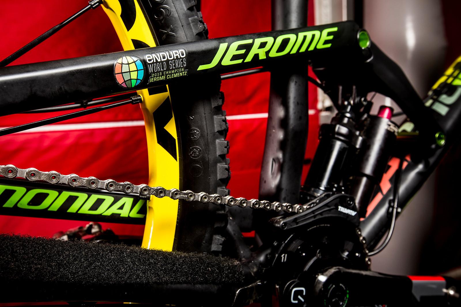 WINNING BIKE: Jerome Clementz's Cannondale Jekyll - WINNING BIKE: Jerome Clementz's Cannondale Jekyll - Mountain Biking Pictures - Vital MTB