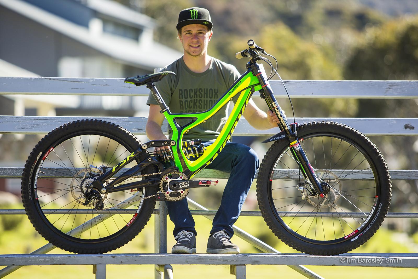 Pro Bike Check: Troy Brosnan's Specialized Demo 8 - Pro Bike Check: Troy Brosnan's Specialized Demo 8 - Mountain Biking Pictures - Vital MTB