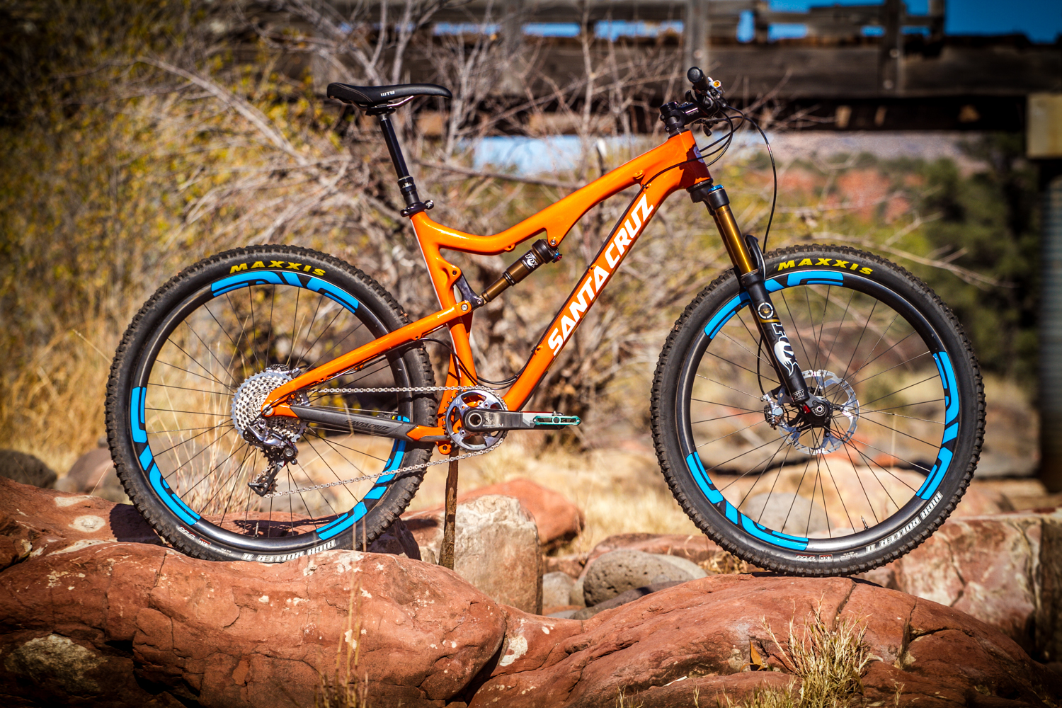 2014 Santa Cruz 5010 C Solo C 2014 Test Sessions