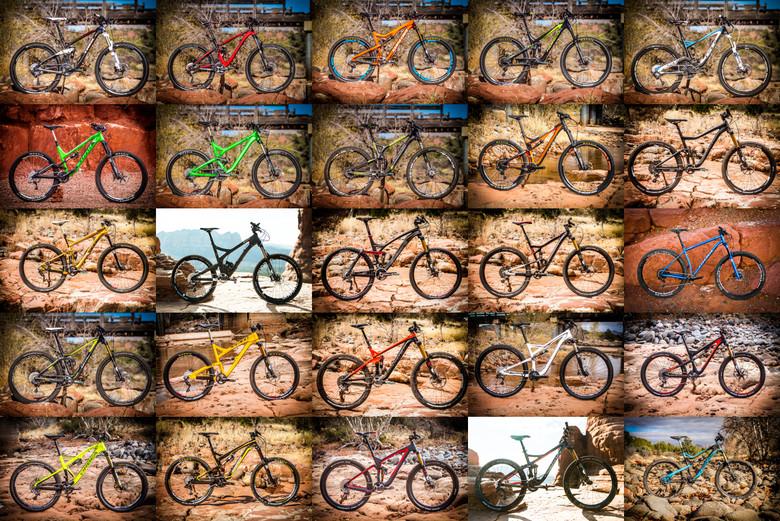 25 Mountain Bikes Tested - Vital MTB Test Sessions 2014