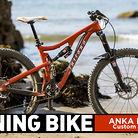 WINNING BIKE: Anka Martin's Custom Juliana 27.5