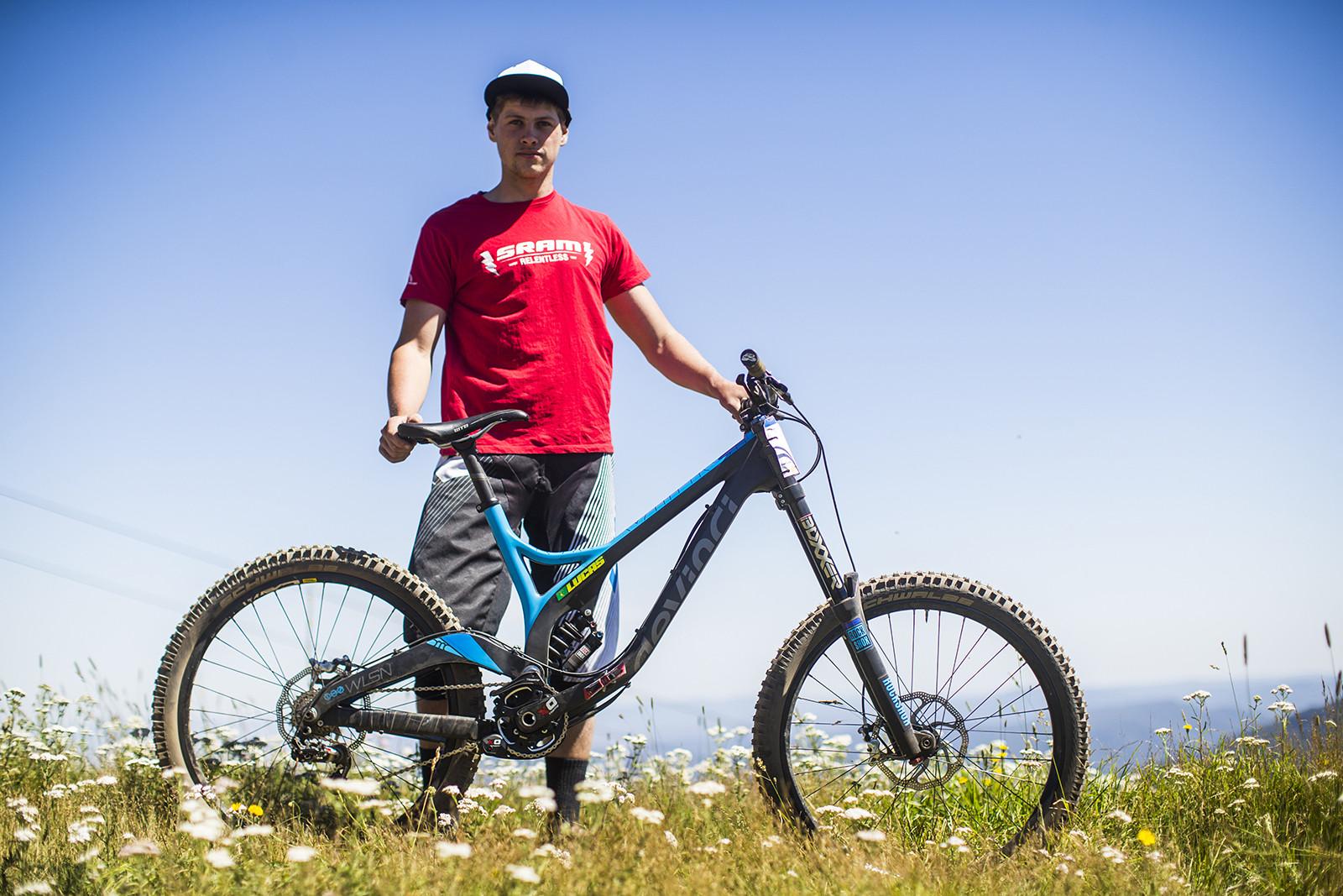 Pro Bike Check: Dean Lucas' Devinci Wilson Carbon - Pro Bike Check: Dean Lucas' Devinci Wilson Carbon - Mountain Biking Pictures - Vital MTB
