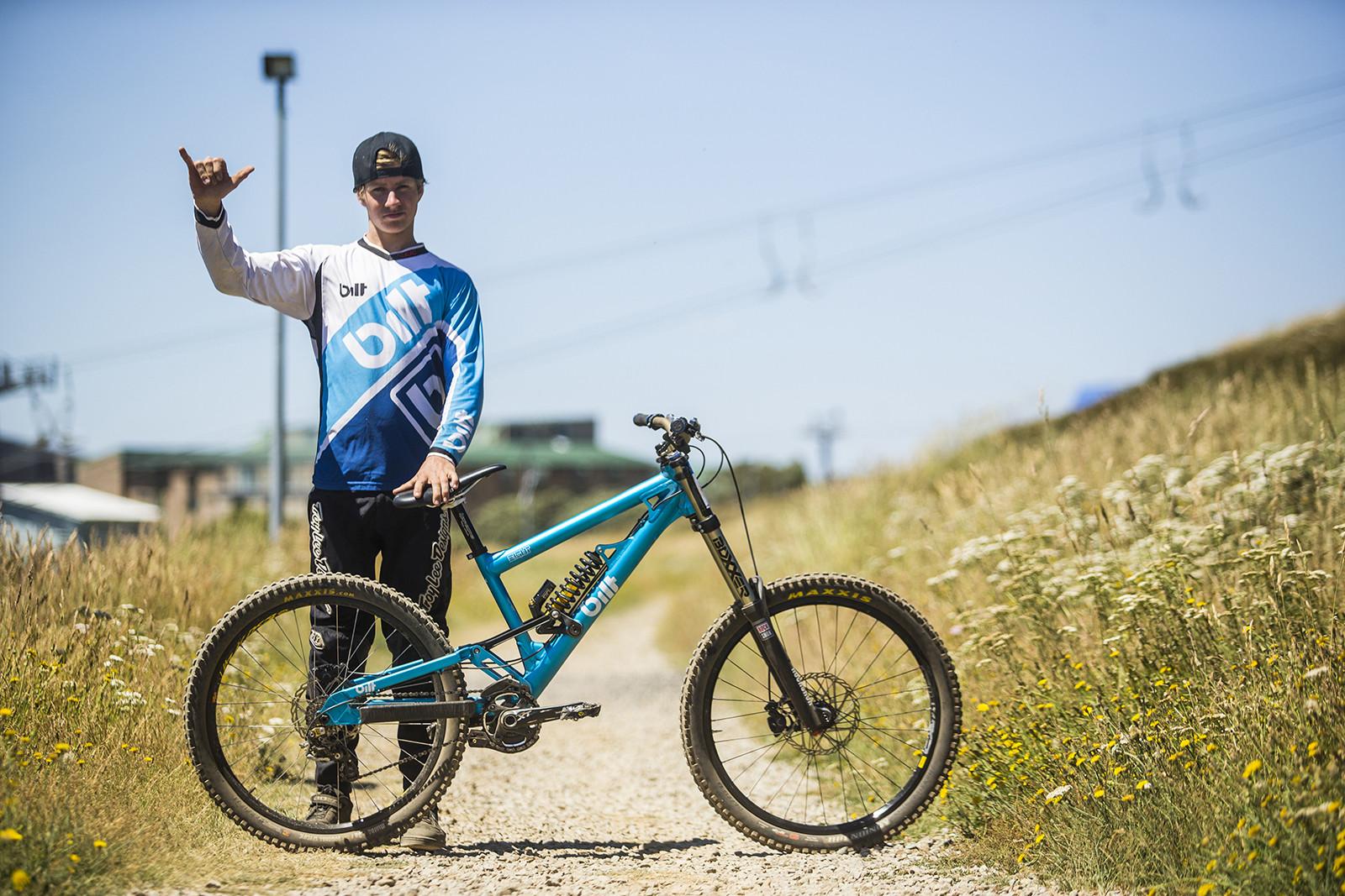 Pro Bike Check: Luke Ellison's Bilt 8 Downhill Bike - Pro Bike Check: Luke Ellison's Bilt 8 Downhill Bike - Mountain Biking Pictures - Vital MTB