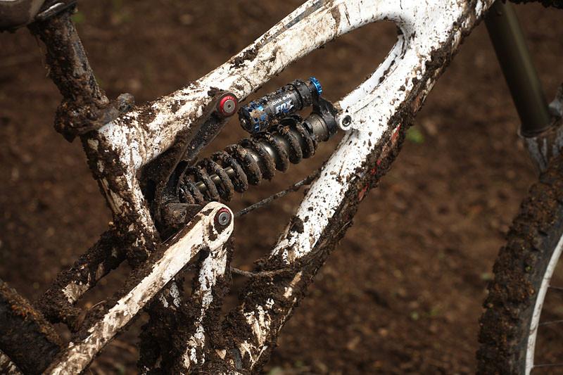 Fox DHX 5.0 rear shock - PROVEN: MSC F5 Downhill Bike - Mountain Biking Pictures - Vital MTB