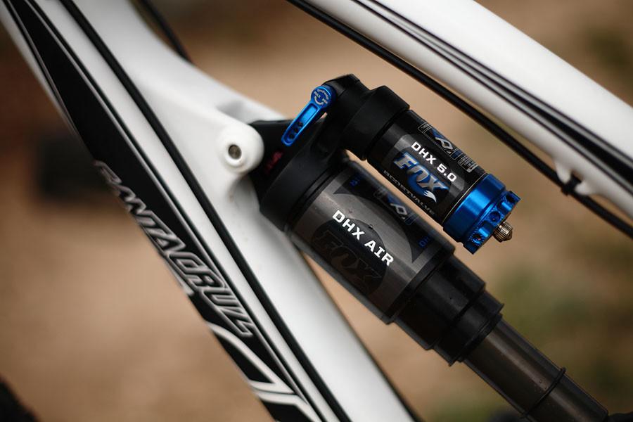 Fox DHX 5 Air Shock - First Ride: 2010 Santa Cruz Carbon Nomad - Mountain Biking Pictures - Vital MTB
