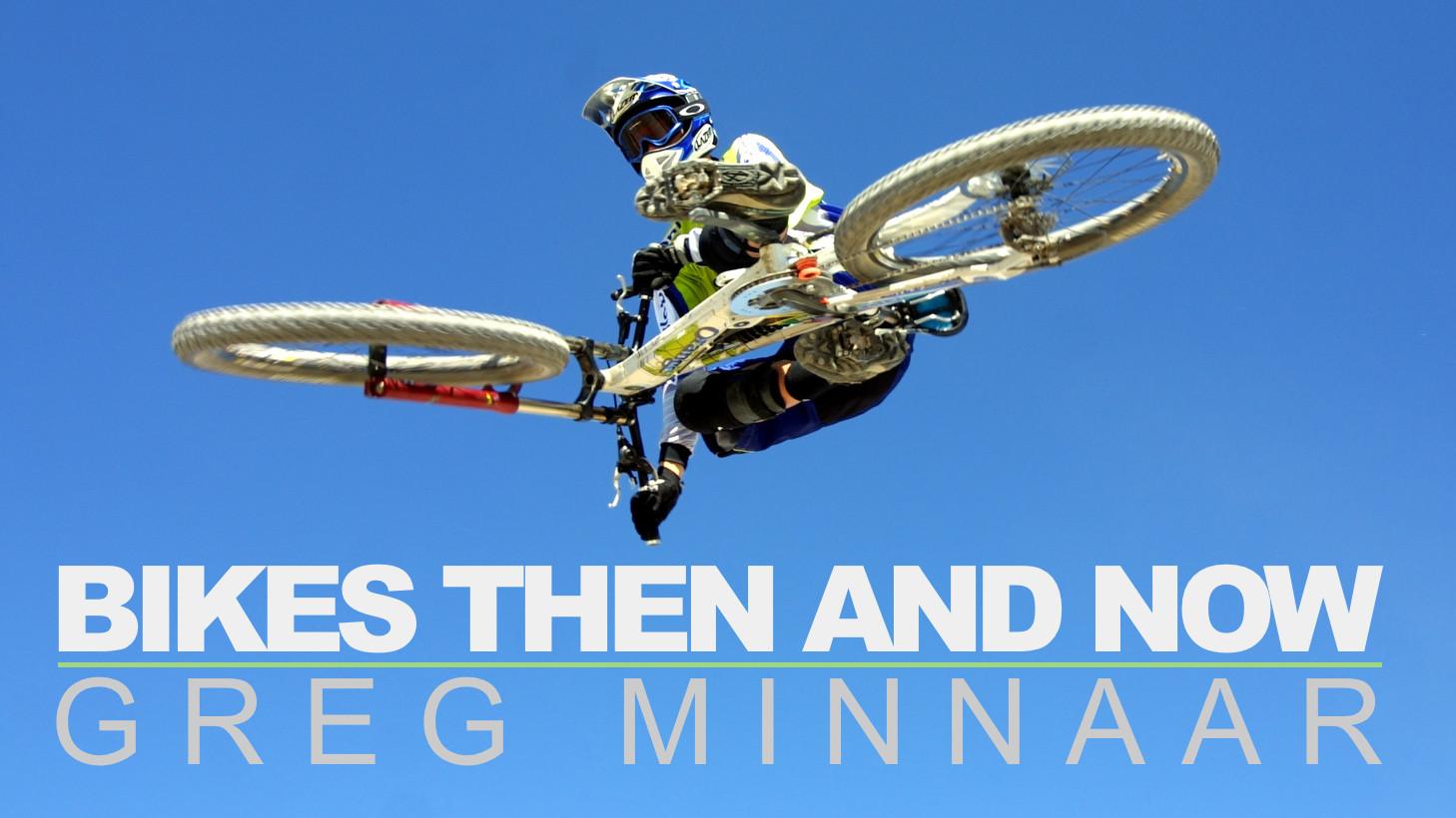 Bikes Then and Now: Greg Minnaar's Rides from 2001-2015 - Bikes Then and Now - Greg Minnaar - Mountain Biking Pictures - Vital MTB