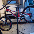Troy Brosnan's 650b Specialized Demo 8 at Fort William