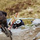 Battling the Sun, Fort William British Downhill Series 2014
