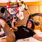 WINNING BIKE: Josh Bryceland's Santa Cruz V10c