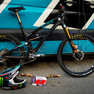 WINNING BIKE: Jared Graves' Yeti SB66c