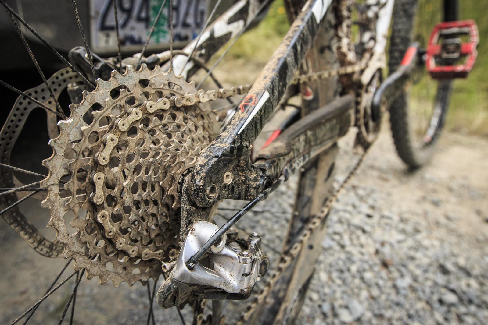 SRAM XX1 on Kirt Voreis' Specialized Enduro 29 - WINNING BIKE: Kirt Voreis' Specialized Enduro 29 - Mountain Biking Pictures - Vital MTB