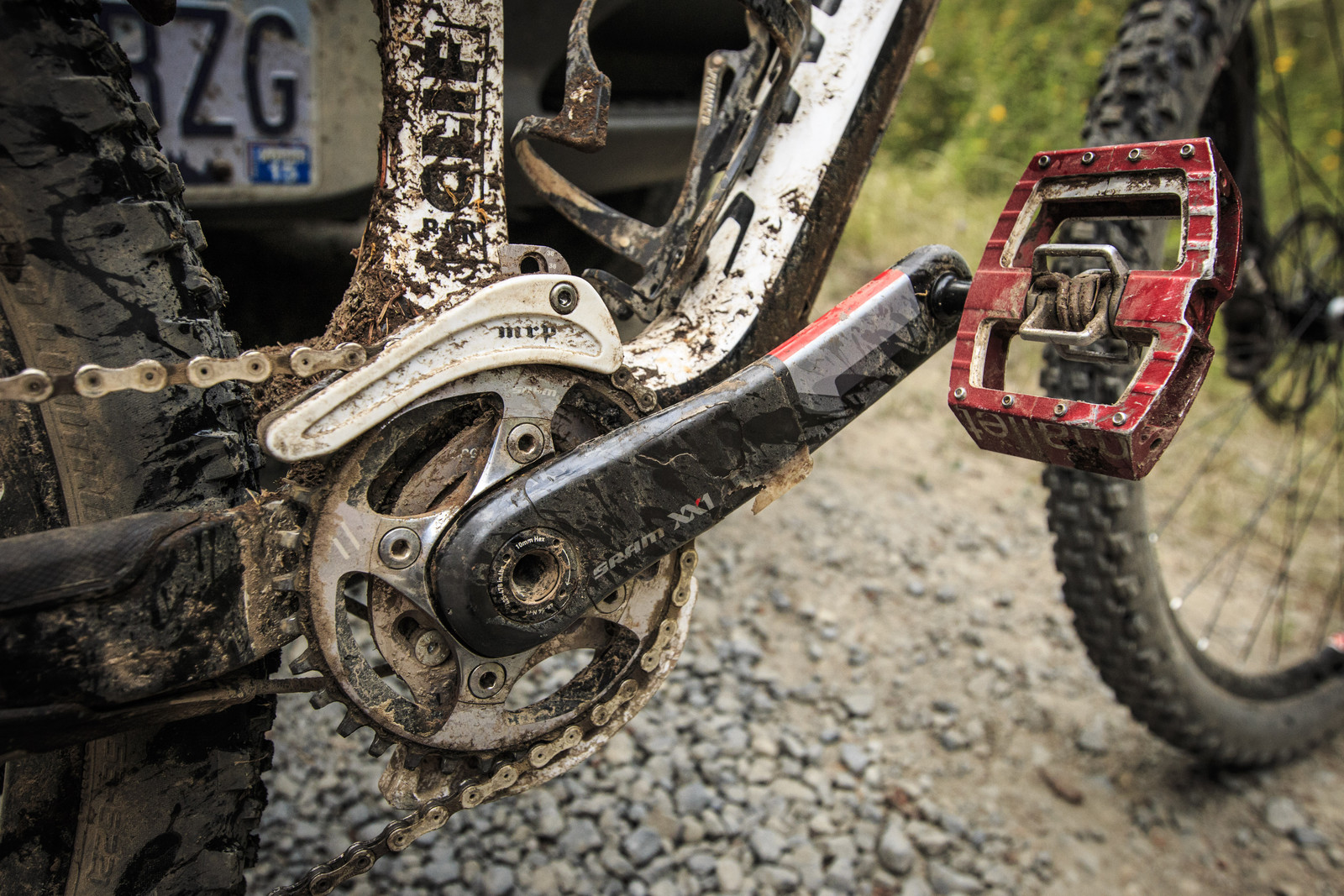 SRAM XX1 and Crank Brothers Mallets on Kirt Voreis' Specialized Enduro 29 - WINNING BIKE: Kirt Voreis' Specialized Enduro 29 - Mountain Biking Pictures - Vital MTB