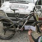 WINNING BIKE: Kirt Voreis' Specialized Enduro 29
