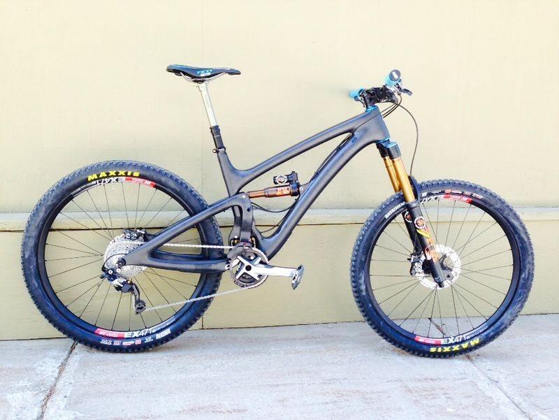 Jared Graves' Prototype Long-Travel Yeti SB6C with Switch Infinity - PIT BITS - 2014 Enduro World Series Colorado Freeride Festival - Mountain Biking Pictures - Vital MTB