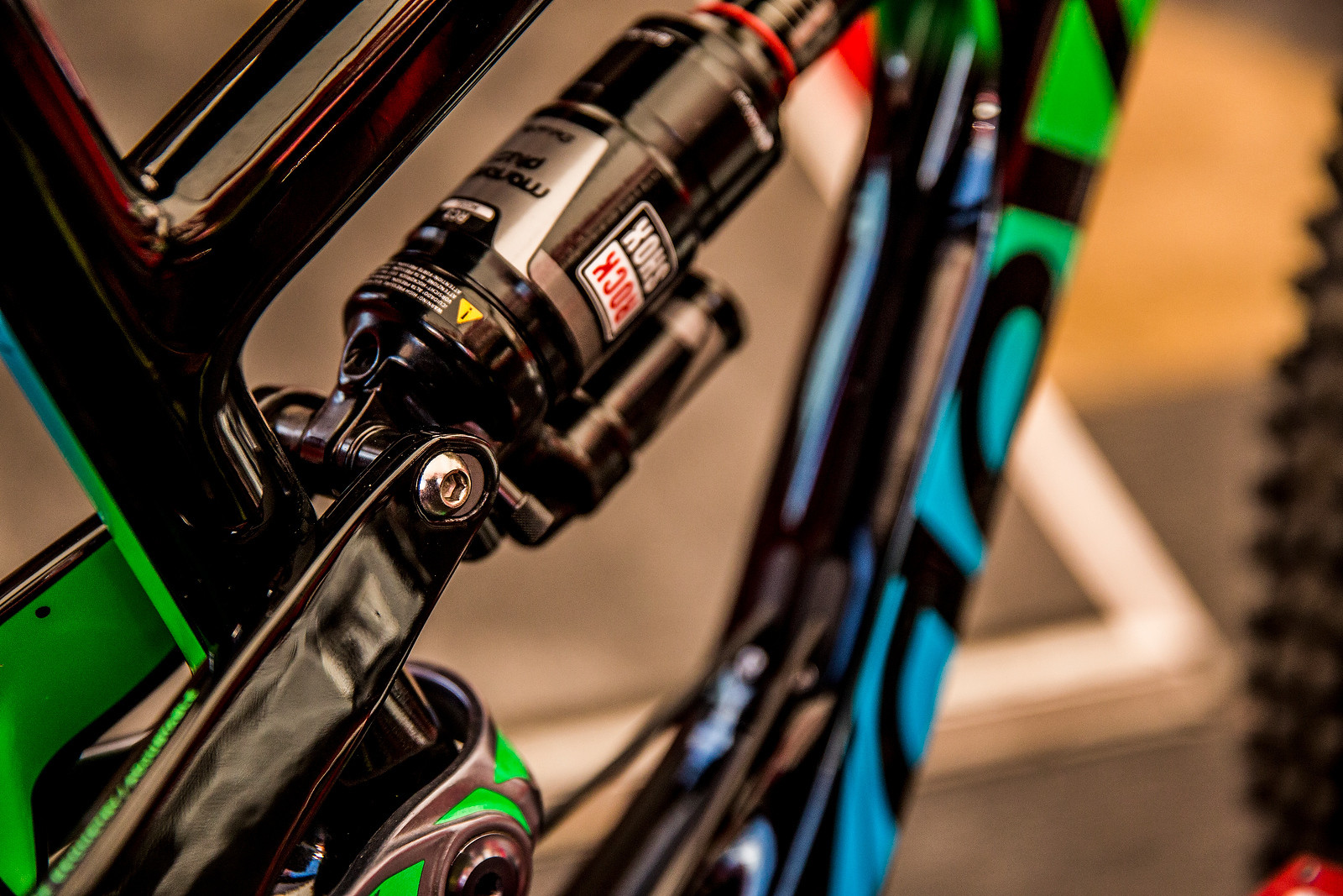 Damien Oton's Prototype Devinci Spartan Carbon - PIT BITS - 2014 Enduro World Series Colorado Freeride Festival - Mountain Biking Pictures - Vital MTB