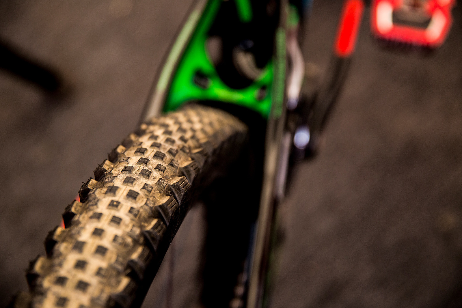 Damien Oton's Schwalbe Rock Razor Tire - PIT BITS - 2014 Enduro World Series Colorado Freeride Festival - Mountain Biking Pictures - Vital MTB