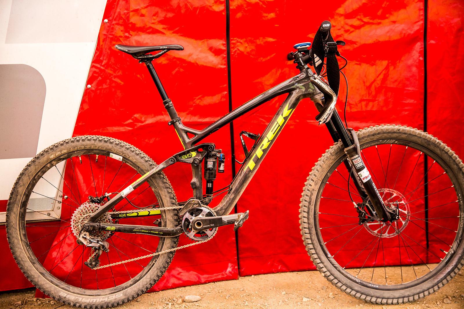Rene Wildhaber's Trek Slash 9.8 Carbon - PIT BITS - 2014 Enduro World Series Colorado Freeride Festival - Mountain Biking Pictures - Vital MTB