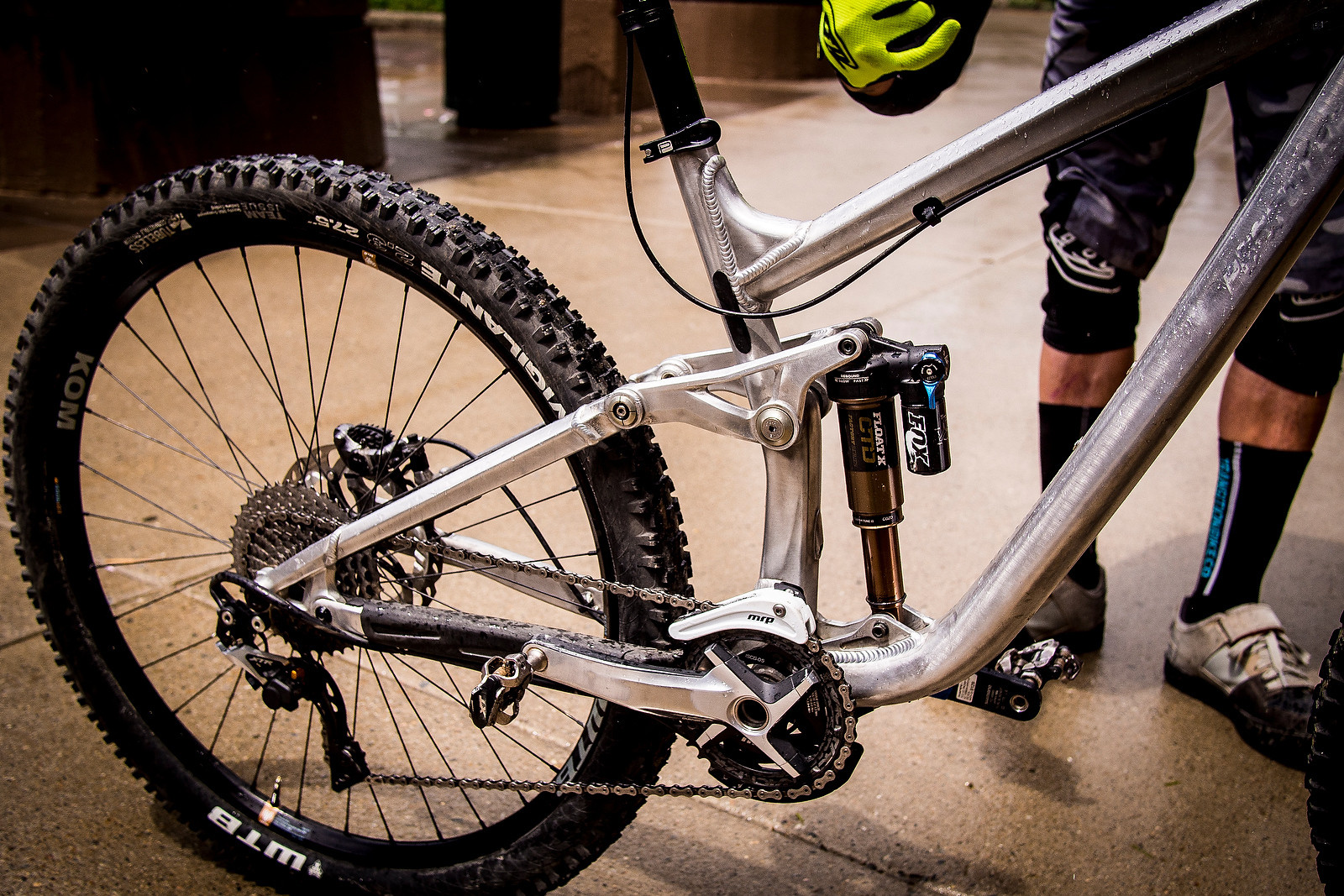 Lars Sternberg's Prototype Transition Enduro Race Bike - PIT BITS - 2014 Enduro World Series Colorado Freeride Festival - Mountain Biking Pictures - Vital MTB
