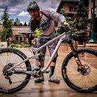 Lars Sternberg's Prototype Transition Enduro Race Bike
