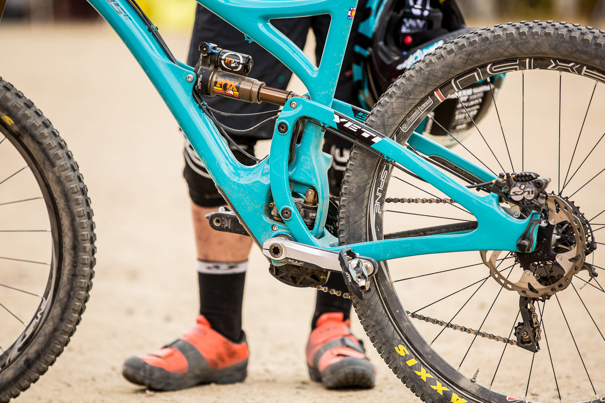 Richie Rude's Yeti SB5c - PIT BITS - 2014 Enduro World Series Colorado Freeride Festival - Mountain Biking Pictures - Vital MTB