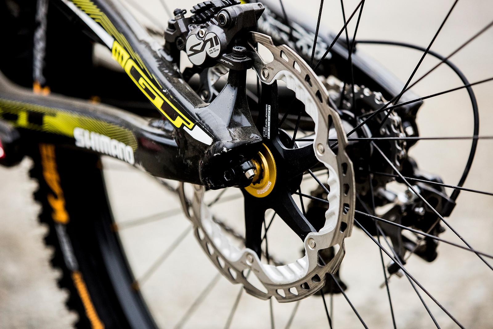 Shimano Saint Brakes With Ice Tech Rotors Winning Bike