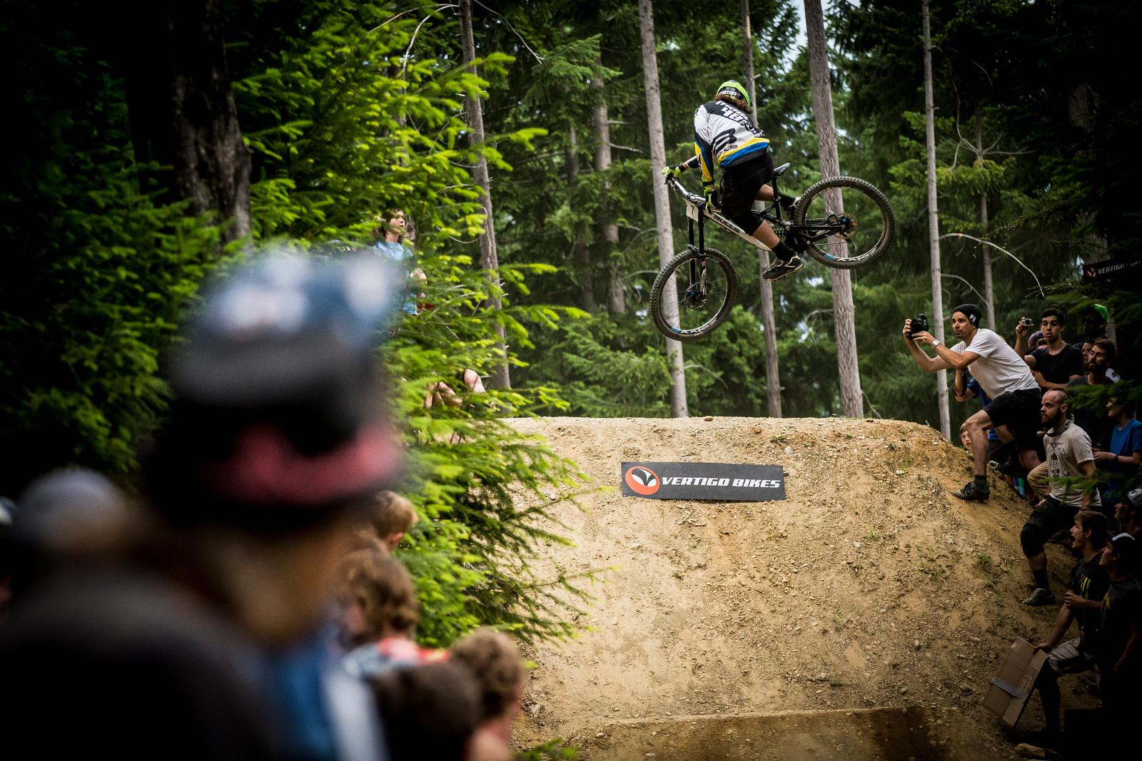 Wyn Masters - Vertigo Bikes Whip Off at the Atlas Bar Wynyard Jam - Mountain Biking Pictures - Vital MTB