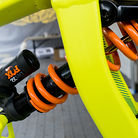 FOX DHX2 Shock on Gee Atherton's GT Fury