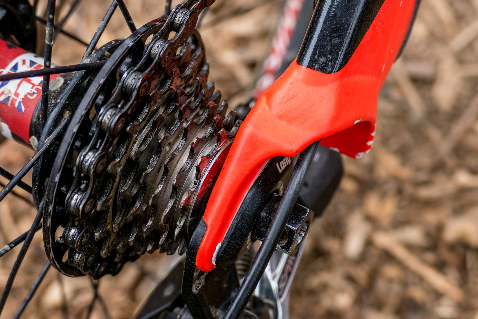 Brendan Fairclough's Gearing - PIT BITS - Crankworx Rotorua - Mountain Biking Pictures - Vital MTB