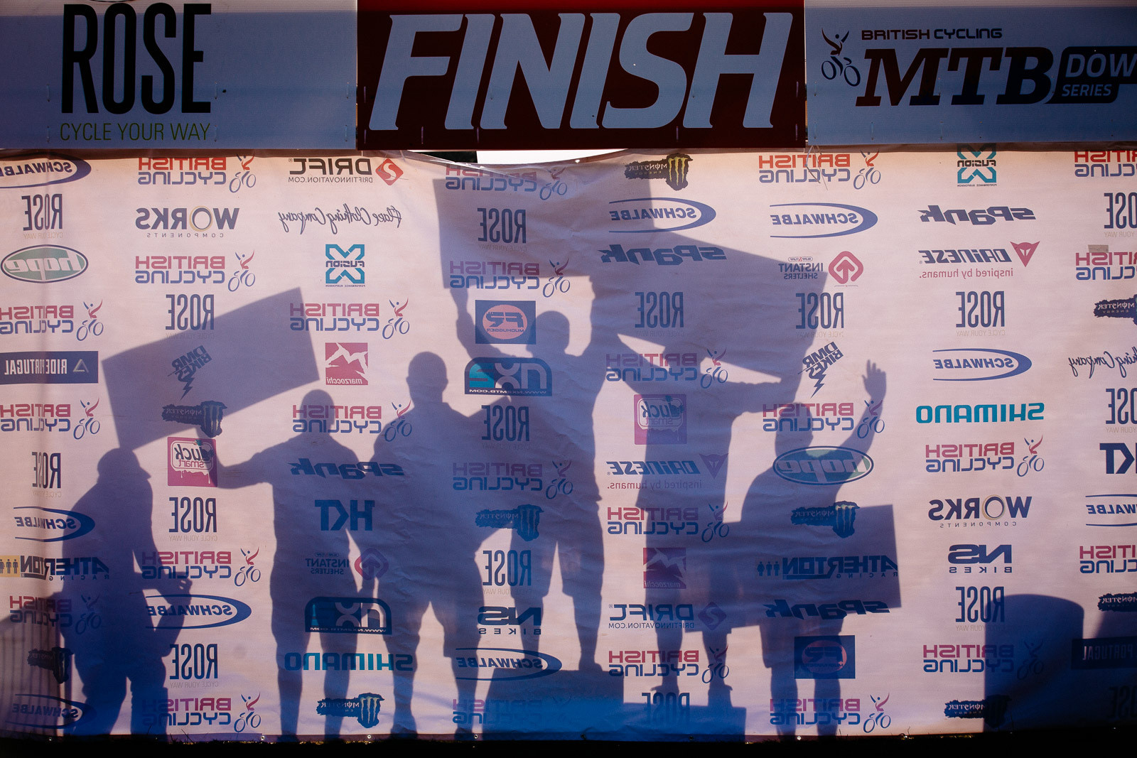 BDS 1, Ae Forest Podium - World Cup Warm-Up - British DH Series Ae Forest Action - Mountain Biking Pictures - Vital MTB