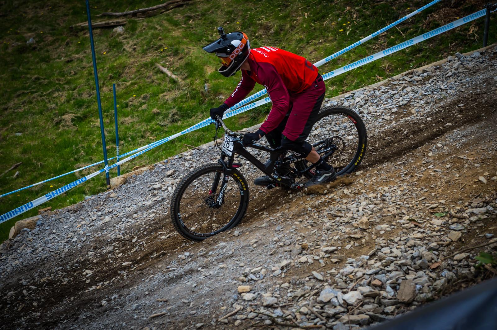 Intense M16 G-Out Project - Lourdes World Cup - G-Out Project - Lourdes World Cup - Mountain Biking Pictures - Vital MTB