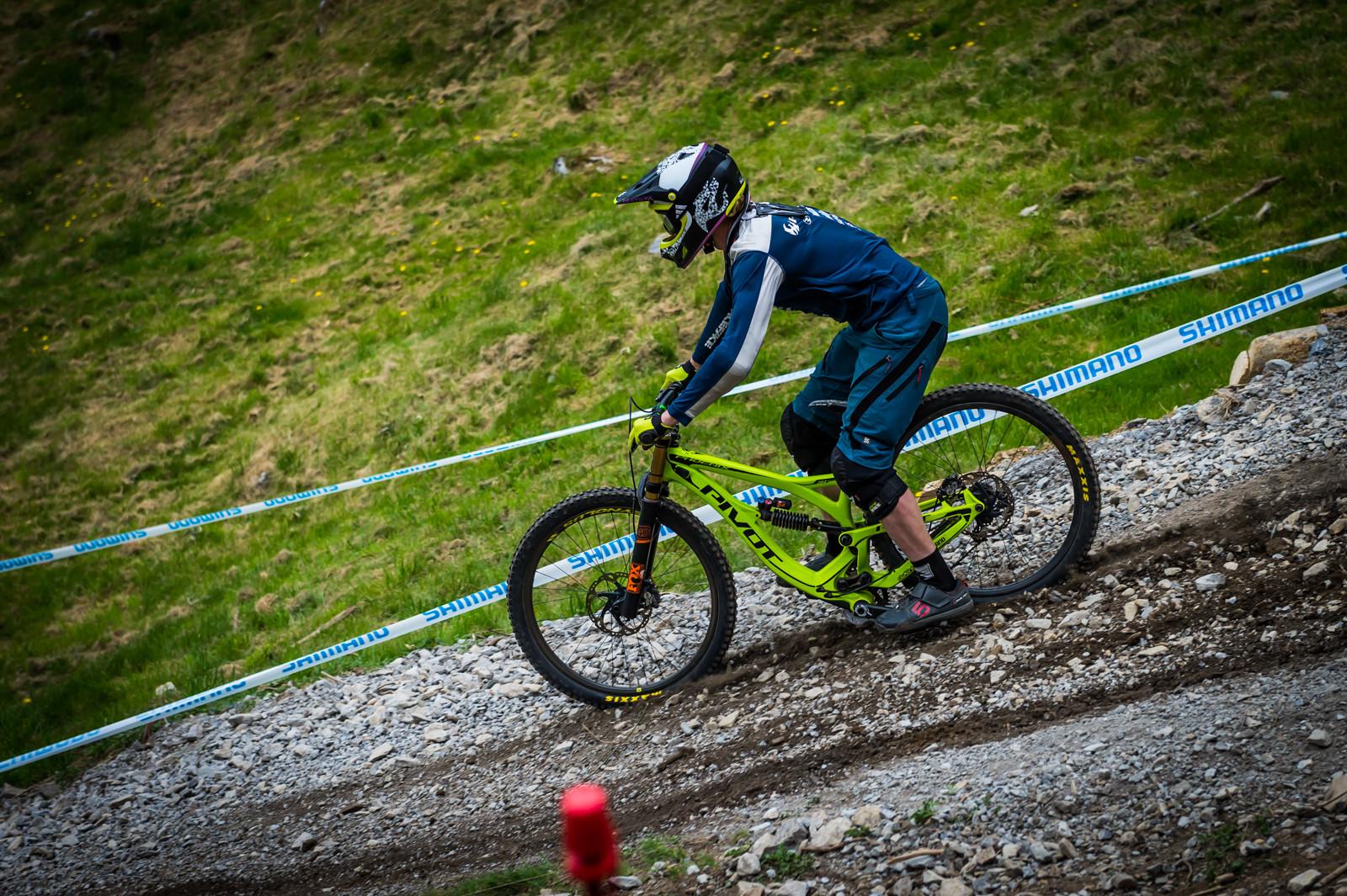 Bernard Kerr G-Out Project - Lourdes World Cup - G-Out Project - Lourdes World Cup - Mountain Biking Pictures - Vital MTB