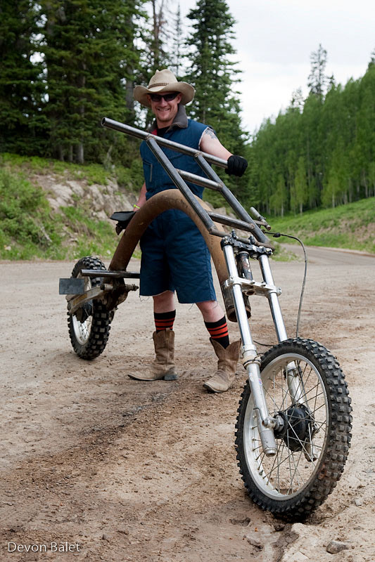 Ready for Rampage - Crested Butte Fat Tire Festival Chainless Race - Mountain Biking Pictures - Vital MTB