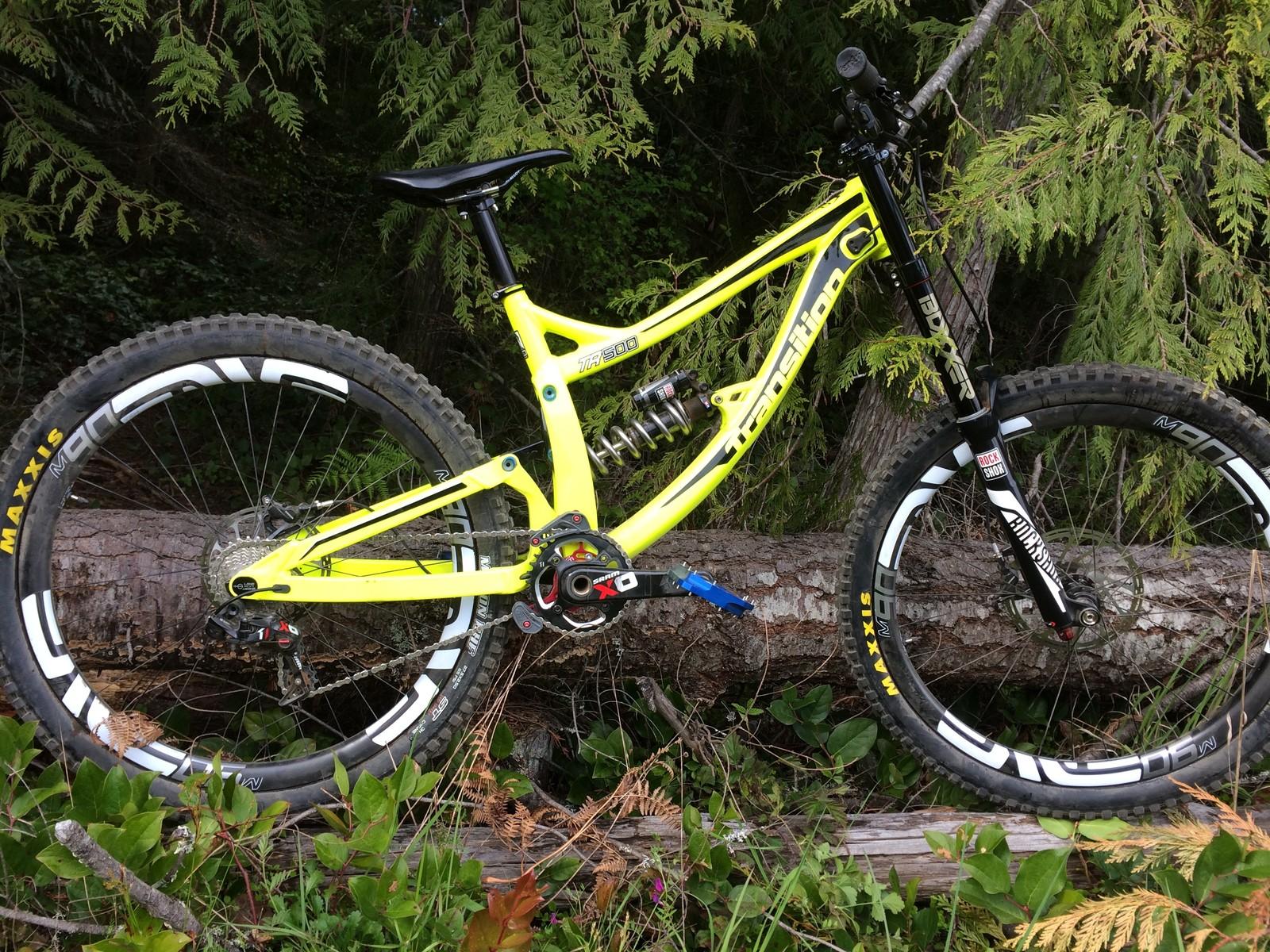 Steve Wentz's Transition TR500 - PIT BITS - Port Angeles ProGRT - Mountain Biking Pictures - Vital MTB