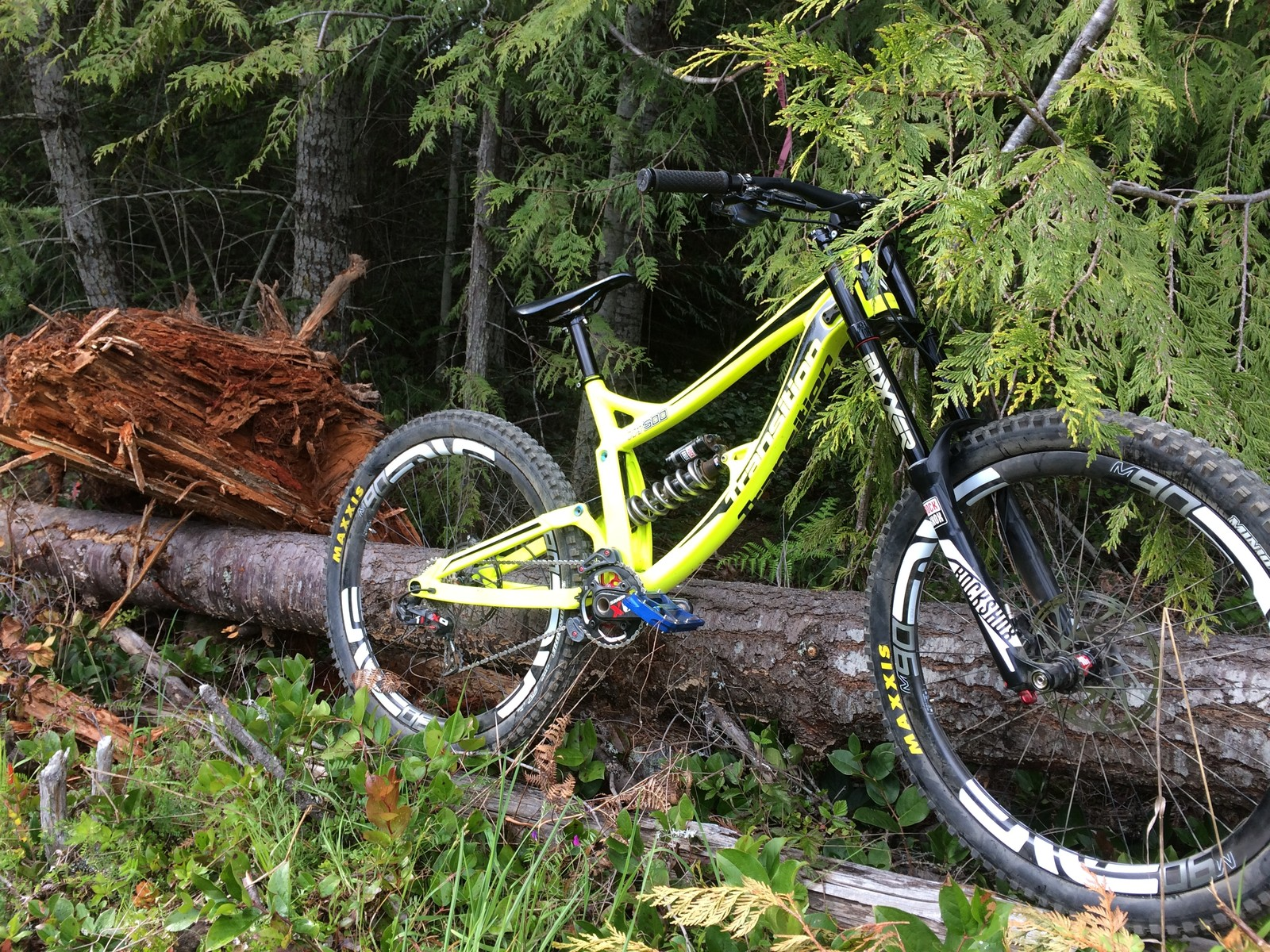 Steve Wentz's Transition TR500 - PIT BITS - Port Angeles ProGRT - Mountain Biking Pictures - Vital MTB