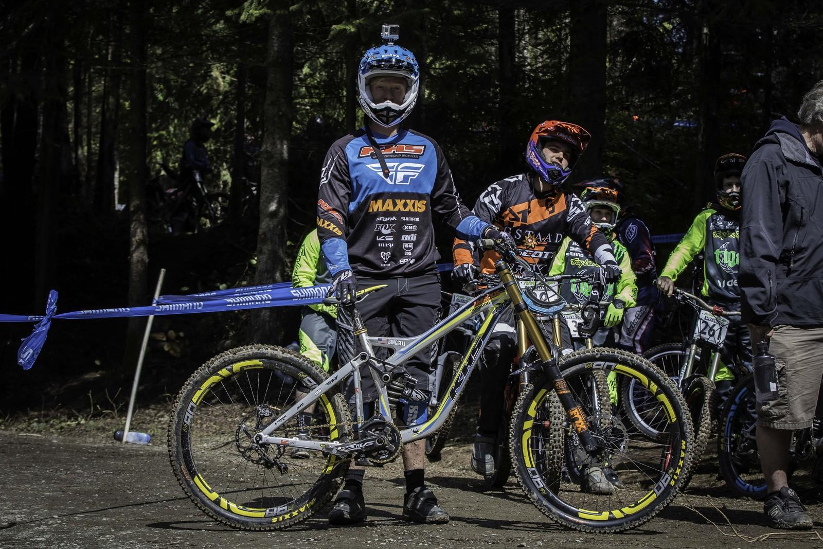 Logan Binggeli Running Singlespeed DH at Port Angeles - PIT BITS - Port Angeles ProGRT - Mountain Biking Pictures - Vital MTB