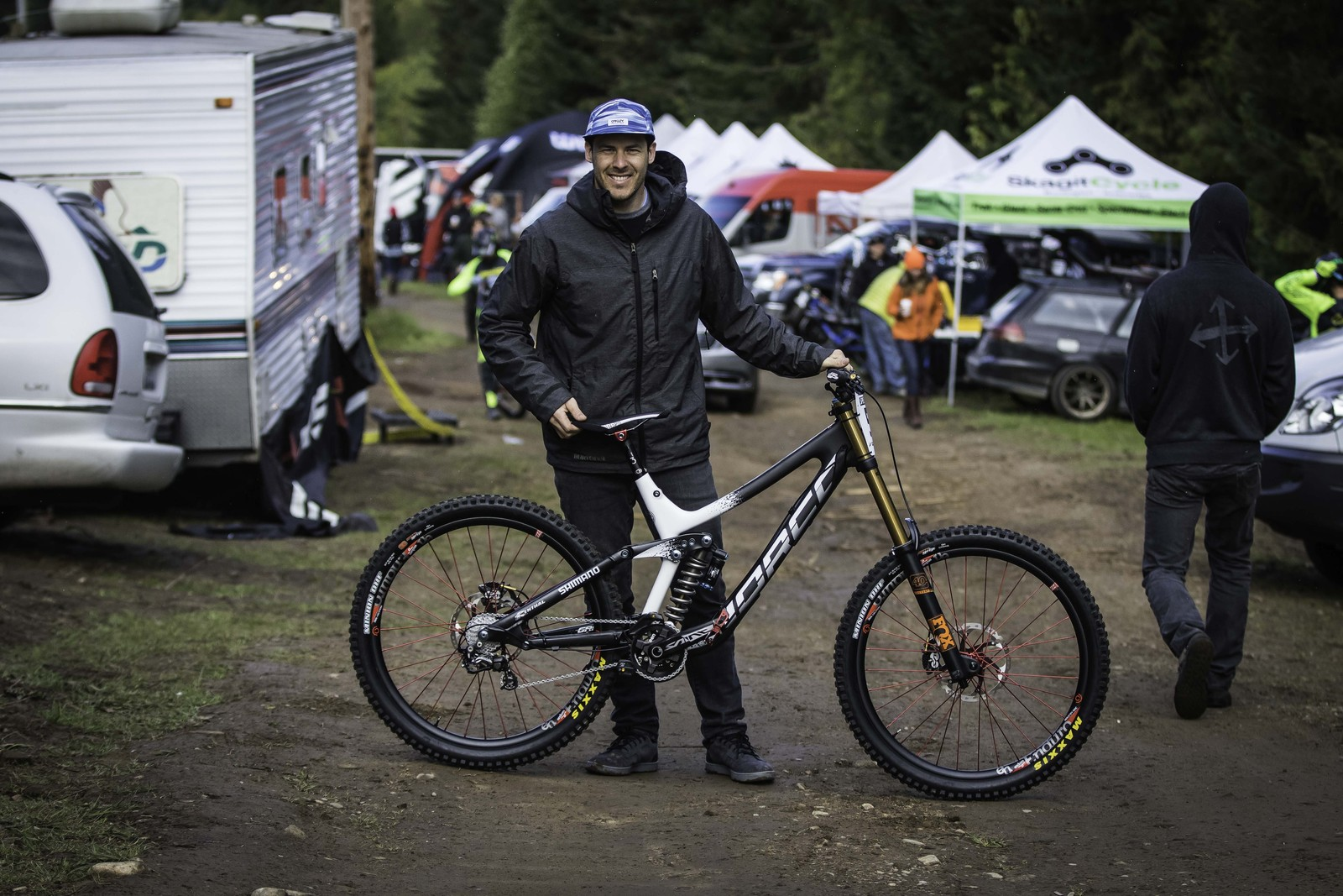 Bryn Atkinson with his Norco Aurum - PIT BITS - Port Angeles ProGRT - Mountain Biking Pictures - Vital MTB